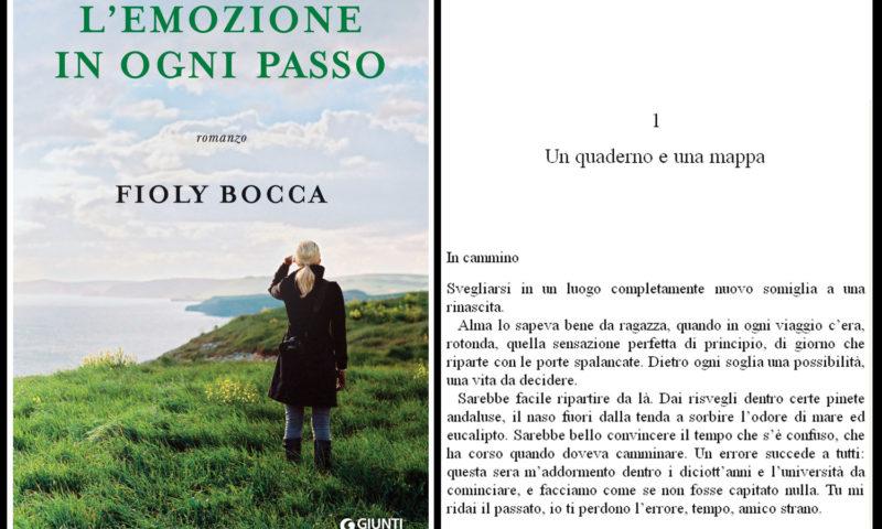 cover del libro di Fioly Bocca, l'emozione in ogni passo