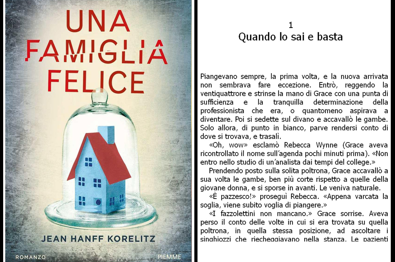 copertina del libro Jean Hanff Korelitz, Una famiglia felice