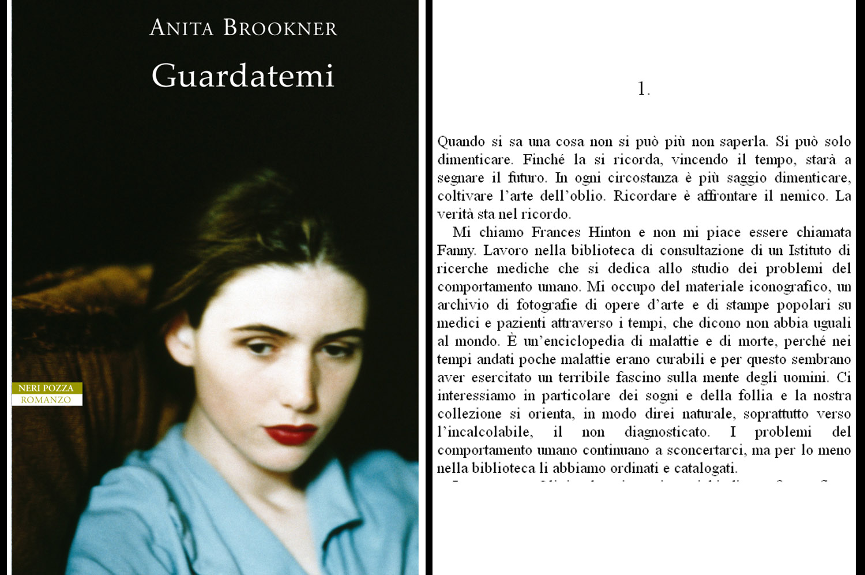 Cover del libro Guardatemi di Anita Brookner