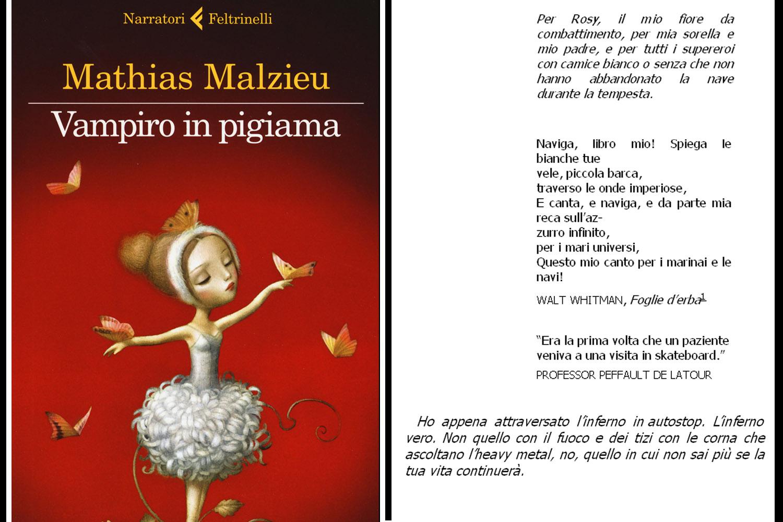 cover del libro vampiro in pigiama di Mathias Malzieu