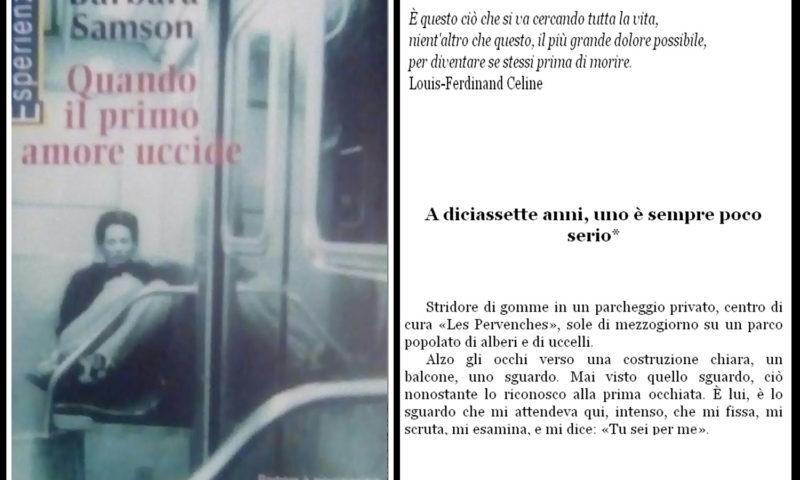 cover del libro Barbara Samson, Quando il primo amore uccide