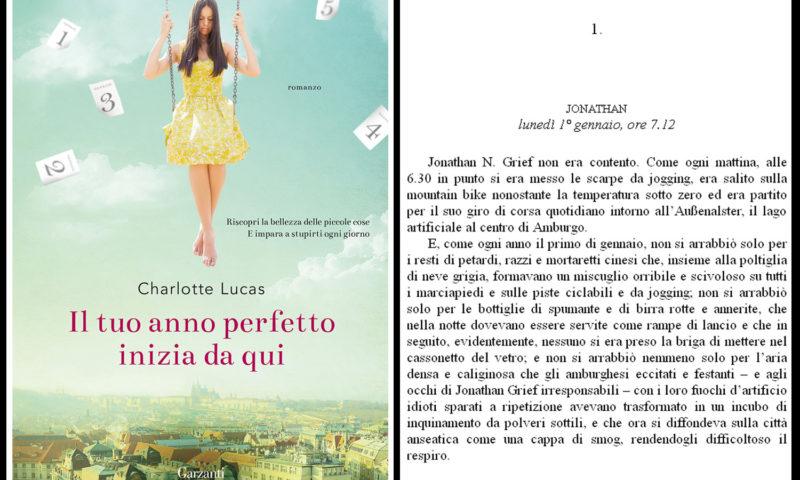 cover del libro Charlotte Lucas - Il tuo anno perfetto inizia da qui