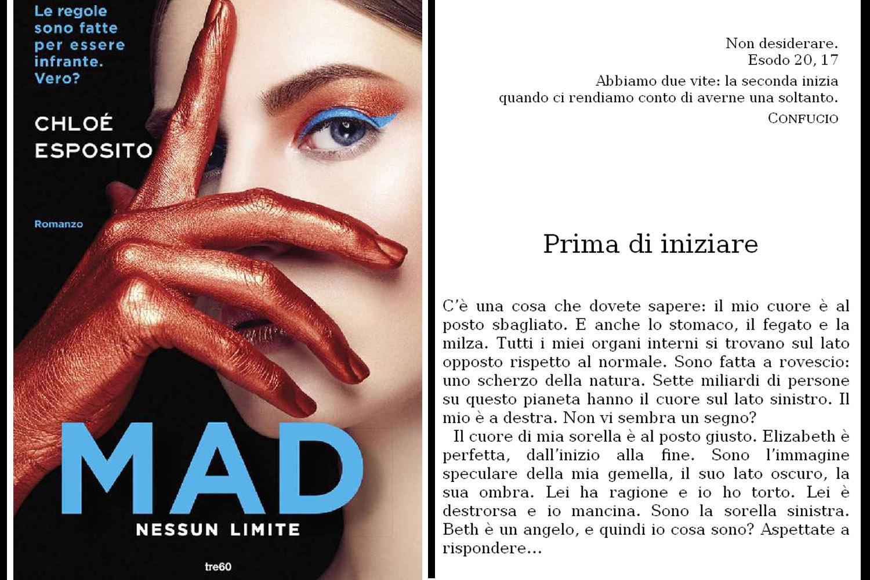 cover del libro Chloé Esposito, Mad. Nessun limite