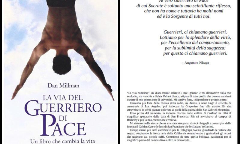 cover del libro Dan Millman, La via del guerriero di pace