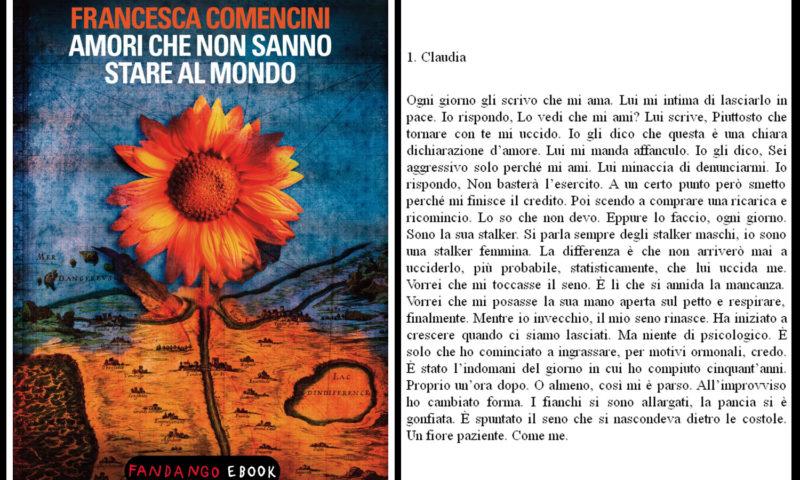 cover del libroFrancesca Comencini, amori che non sanno stare al mondo