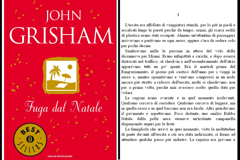 cover del libro John Grisham, Fuga dal Natale