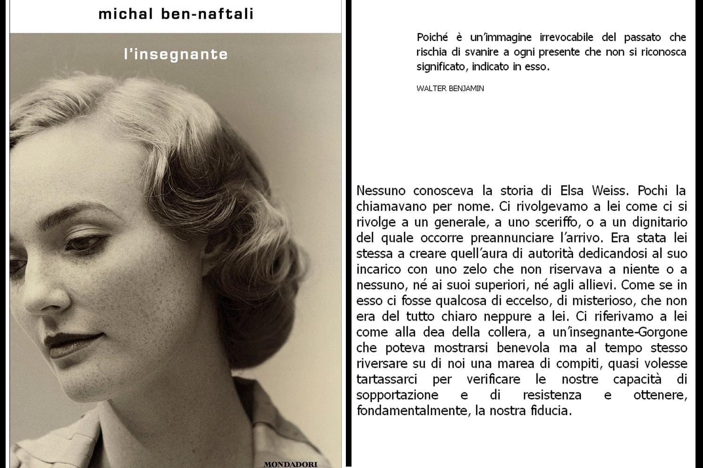 cover del libro Michal Ben-Naftali, L'insegnante