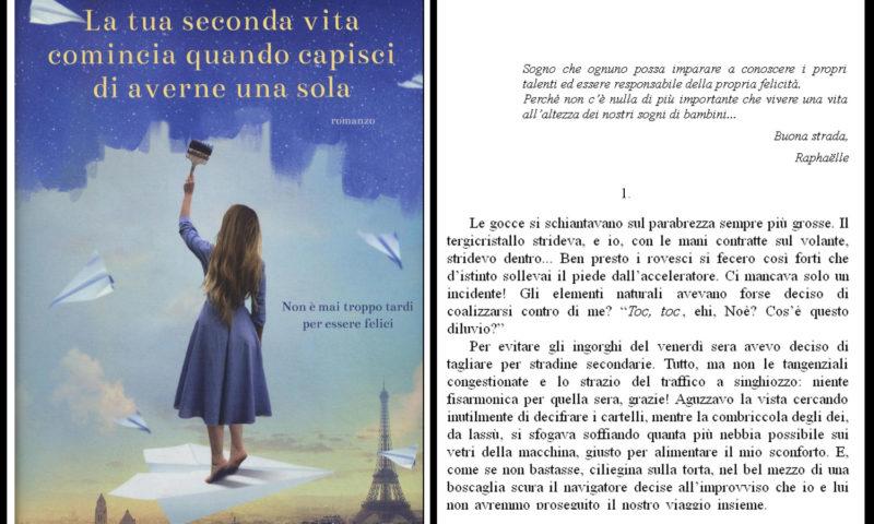COVER DEL LIBRO Raphaelle Giordano, La tua seconda vita comincia quando capisci di averne una sola