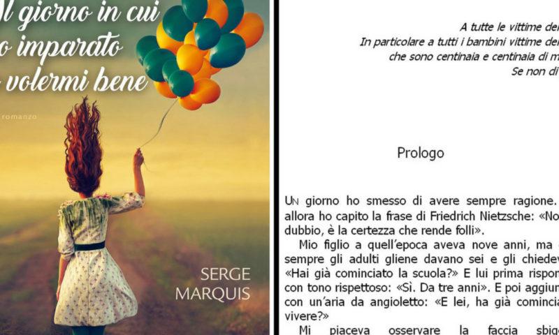 cover del libro Serge Marquis, Il giorno in cui ho imparato a volermi bene
