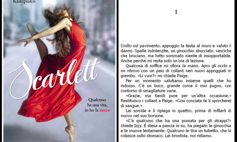 Thalia Kalkipsakis Scarlett, Qualcuno ha una vita, io ho la danza