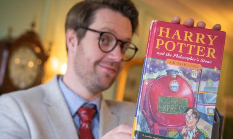 Libro Harry Potter asta