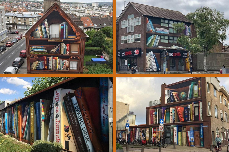 janisdeman murale libreria